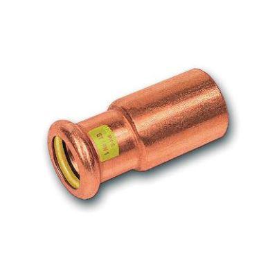 CU lisovací redukce 9243 - 35 x 22  - pro topení i rozvod plynu F/M