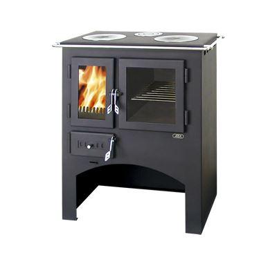 ABX Kuchyňský sporák s troubou - černý plech, litinové plotýnky | AKCE Zdravá láhev 0,7l