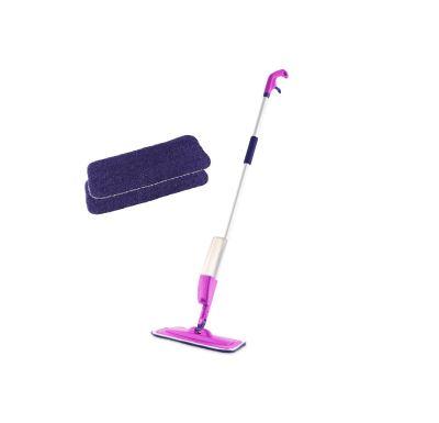 Rovus Set Rozprašovací mop V3 Růžový + Sada 2 ks čistících polštářků
