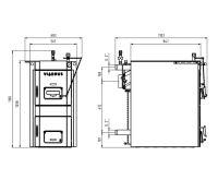 Viadrus Sestava kotle HERCULES U32 6 čl. + Akumulační nádrž NAD1000V2