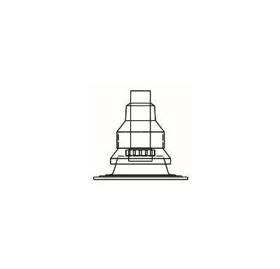 ALMEVA FLEX komínová plastová hlavice komplet  60mm