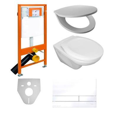 PROFI-Set Tech WC komplet Duofix Euroline