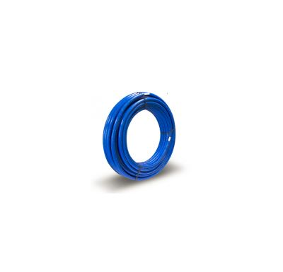 KIIPTHERM Plastová trubka PEX/AL/PEX 20x2 - 95°C | 1m - Izolovaná modrá