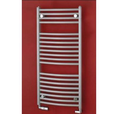 Koupelnový radiátor PMH BLENHEIM B9MES 750x1640, Metalická stříbrná matná