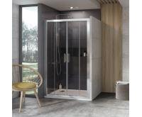 Ravak Sprchové dveře 10° 10DP4-120 satin+Transparent