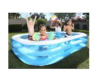 Bestway Bazén obdélníkový 262 x 175 x 51 cm modrobílý