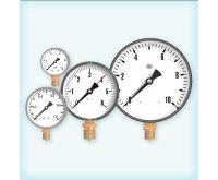 """Manometr - tlakoměr 100mm 1/2"""" Radiál - spodní vývod 0-2,5 bar"""