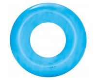 Bestway 36022 Nafukovací kruh Transparent 51 cm modrá