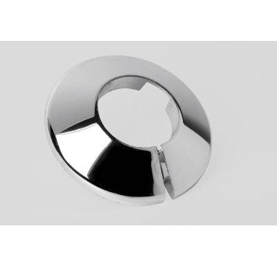 Krytka trubková 22 mm, chromovaná - dělená