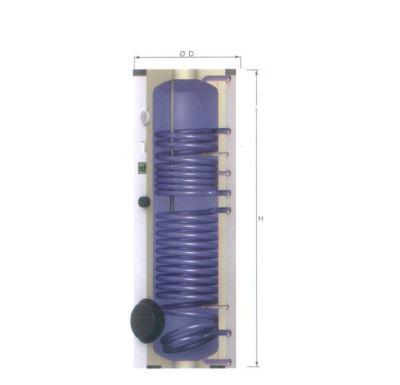 Reflex solární ohřívač pro solární ohřev S400-2