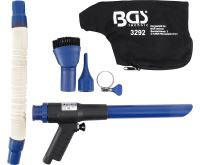 BGS Pistole Pneumatická sací / ofukovací | přepínatelná | 9dílná