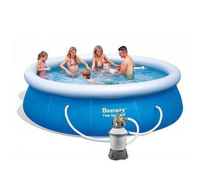 Bestway Bazén Fast Set 366 x 91 cm s pískovou filtrací Standard