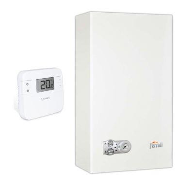 Ferroli DIVAPROJECT C24 Kotel plynový | AKCE termostat RT310 ZDARMA