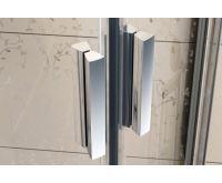 Ravak sprchový kout čtvrtkruh BLCP4-80 bílá+Transparent
