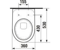 PROFI-Set Tech WC komplet Lyra