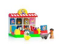Kids World Logická stavebnice LOGIS obchod 69 ks