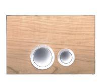 JOMO ovládací tlačítko ELEGANCE - Dřevo třešeň/lesklý chrom