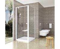 Ravak sprchové dveře PDOP2-100 bílá+transparent