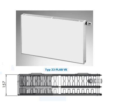 Radiátor PLAN VK 33-900/1600 - Radik Korado