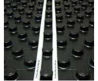 PIPE-LIFE Systémová izolační deska SILENZIO 1400x800x50 mm s fólií EPS 1,12m2 - Izolace 30mm