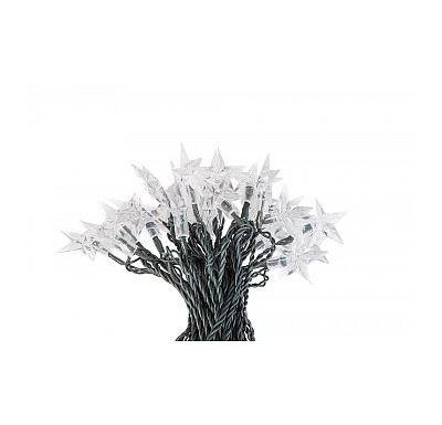 Platinium Vánoční LED osvětlení 50 diod, hvězdy studená bílá
