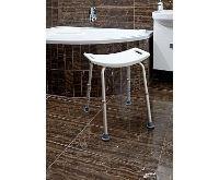 HomeLife Koupelnové sedátko výškově stavitelné