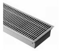BOKI InFloor Podlahový konvektor FMK 110/290-2500mm - pozink Bez ventilátoru