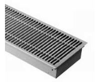 BOKI InFloor Podlahový konvektor FMK  90/340-3800mm - pozink Bez ventilátoru