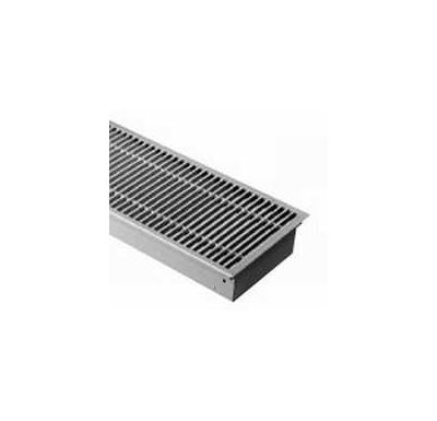 BOKI InFloor Podlahový konvektor FMK 140/180-2400mm - pozink Bez ventilátoru