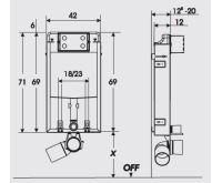 Werit JOMO Tech WC komplet Kombifix Euroline