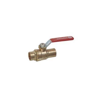 Giacomini R258D kulový kohout voda - 28 páka pájecí
