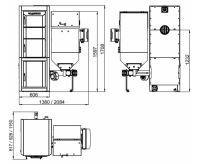 Viadrus A3C-S25PB-01.18 4 čl. velký zásobník, regulace