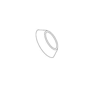 ALMEVA LIK/LIL Krycí manžeta 125 - černá, UV stabil.