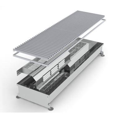 MINIB Podlahový elektrický konvektor COIL-TE 1500mm S ventilátorem, mřížka