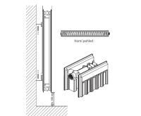 Radiátor Klasik R 21-554/ 800 - PURMO AKCE Termohlavice za 50,- Kč