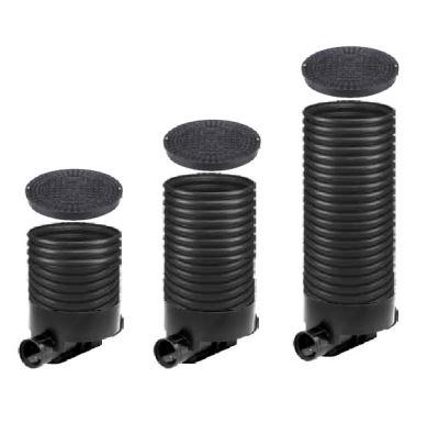 OSMA kanalizační šachta 315x1000 mm průchozí KG 160 poklop plný - 1,5t