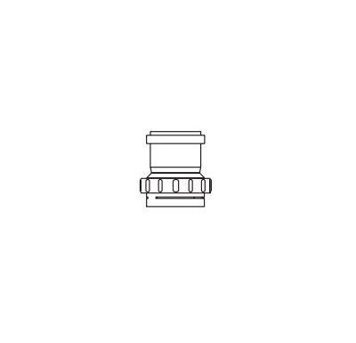 ALMEVA FLEX Adaptér FLEX / STARR  80mm