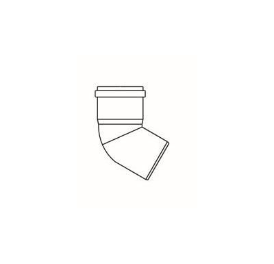 ALMEVA STARR koleno 60° 200mm