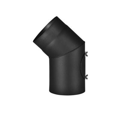 Almeva Koleno s čistícím otvorem 45° - ø130