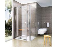 Ravak sprchové dveře PDOP1-80 satin+transparent