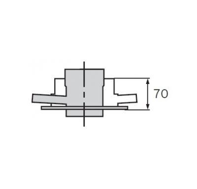 Vaillant Spalinový adaptér pro systém