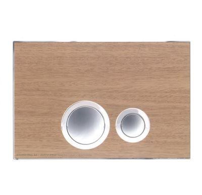 JOMO ovládací tlačítko ELEGANCE - Dřevo buk/lesklý chrom