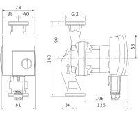 WILO Yonos PICO 30/1-8 oběhové čerpadlo pro topení