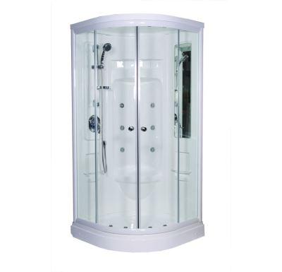 Sprchový box hydromasáž s parogen. bez zástěny s vaničkou