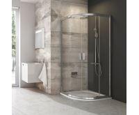Ravak sprchový kout čtvrtkruh BLCP4-80 satin+Transparent