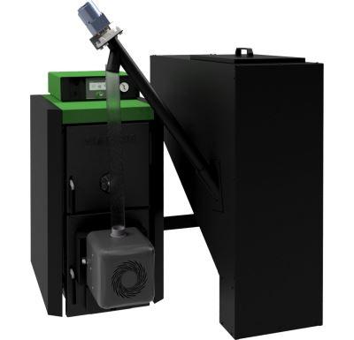 Viadrus A0C-A16P-01.17 Bez zásobníku, ovládání S CONTROL TOUCH Kotel na tuhá paliva