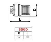 Termostatická hlavice SENSO k radiátorům v AKCI za 50,- Kč