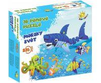 Kids World 3D pěnové puzzle Mořský svět