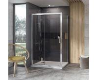 Ravak Sprchové dveře 10° 10DP2-110 bílá+Transparent