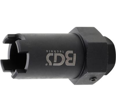 BGS Special Socket for Nozzle Block   32 mm drive   for Mercedes-Benz, Neoplan, Setra